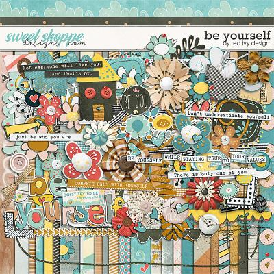 Be Yourself by Red Ivy Design