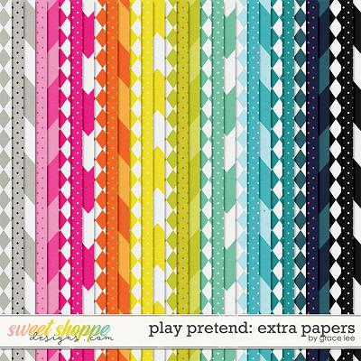 Play Pretend: Extra Papers by Grace Lee