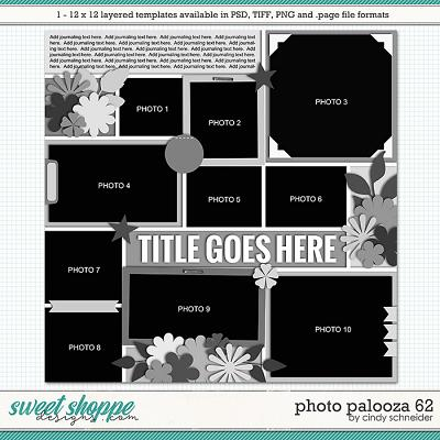 Cindy's Layered Templates - Photo Palooza 62 by Cindy Schneider