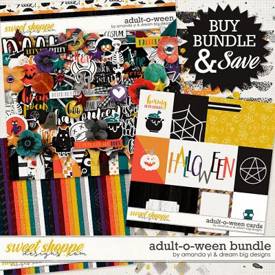 Adult-O-Ween: Bundle by Amanda Yi & Dream Big Designs