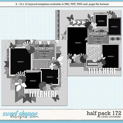 Cindy's Layered Templates - Half Pack 172 by Cindy Schneider