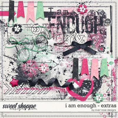 I am Enough Extras by River Rose Designs