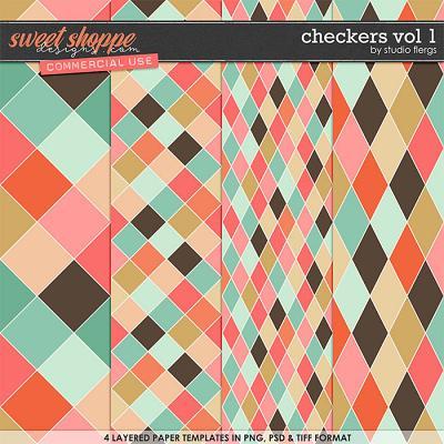 Checkers VOL 1 by Studio Flergs