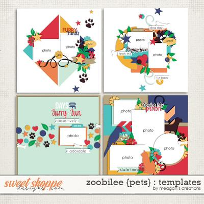 Zoobilee {Pets} : Templates by Meagan's Creations