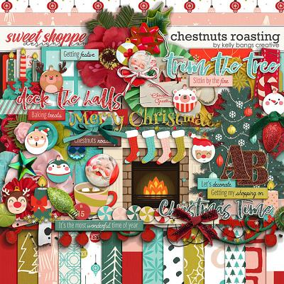 Chestnuts Roasting by Kelly Bangs Creative