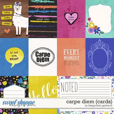 Carpe Diem {cards} by Blagovesta Gosheva