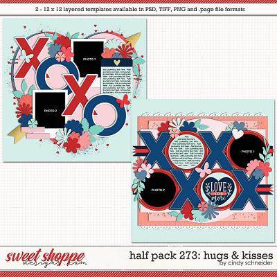 Cindy's Layered Templates - Half Pack 273: Hugs & Kisses by Cindy Schneider