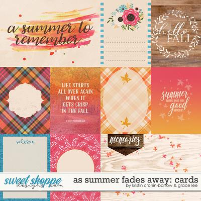 As Summer Fades Away: Cards by Grace Lee and Kristin Cronin-Barrow