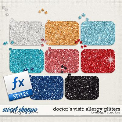Doctor's Visit: Allergy Glitters by Meagan's Creations