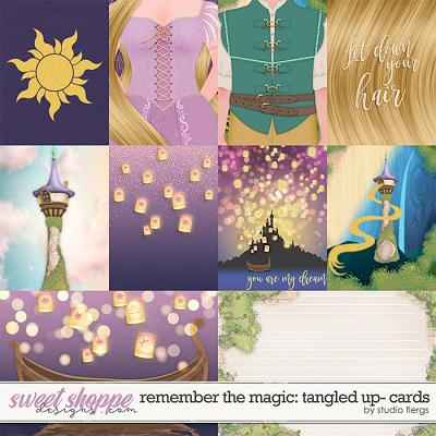 Remember the Magic: TANGLED UP- CARDS by Studio Flergs