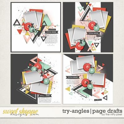 TRY-ANGLES PAGE DRAFTS | by The Nifty Pixel