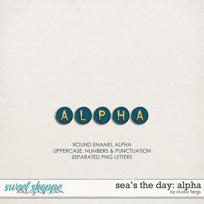 Sea's the Day: ALPHA by Studio Flergs