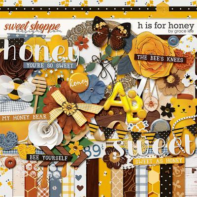 H Is For Honey by Grace Lee