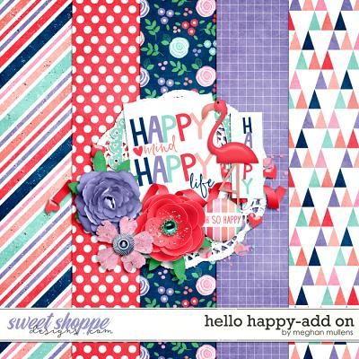 Hello Happy-Add On by Meghan Mullens
