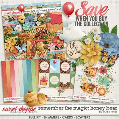 Remember the Magic: HONEY BEAR- COLLECTION & *FWP* by Studio Flergs