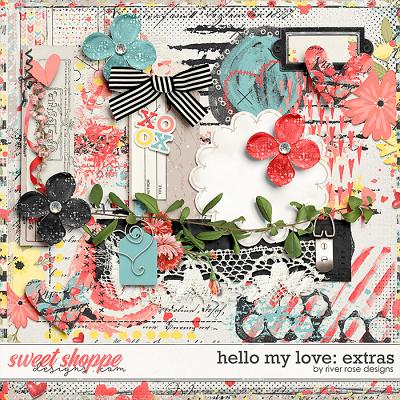 Hello My Love: Extras by River Rose Designs