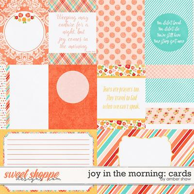 Joy in the Morning Cards by Amber Shaw