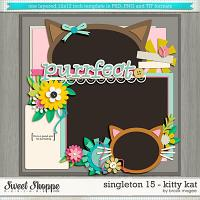 Brook's Templates - Singleton 15 - Kitty Kat by Brook Magee