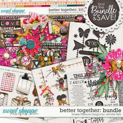better together bundle: Simple Pleasure Designs by Jennifer Fehr