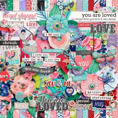 You Are Loved by Blagovesta Gosheva & Vesi Design
