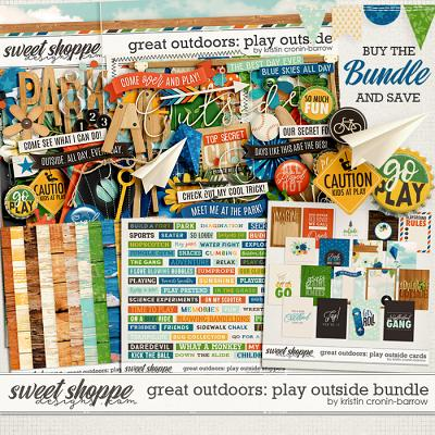 Great Outdoors: Play Outside Bundle by Kristin Cronin-Barrow