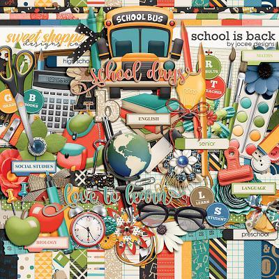 School is Back by JoCee Designs