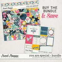 You Are Special : Bundle by Amanda Yi & Digital Scrapbook Ingredients