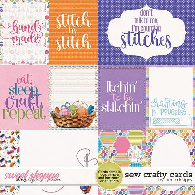 Sew Crafty Cards by JoCee Designs