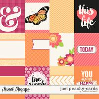 Just Peachy Cards by Melissa Bennett