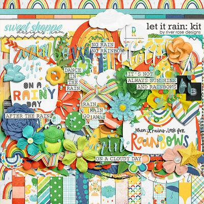 Let it Rain: Kit by River Rose Designs