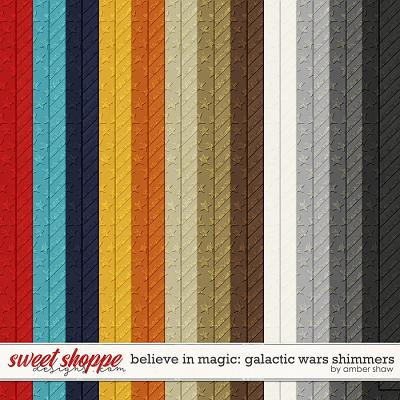Believe in Magic: Galactic Wars Shimmers by Amber Shaw