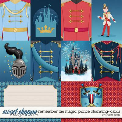 Remember the Magic: PRINCE CHARMING- CARDS by Studio Flergs