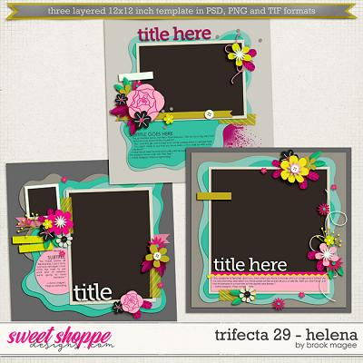 Brook's Templates - Trifecta 29 - Helena by Brook Magee