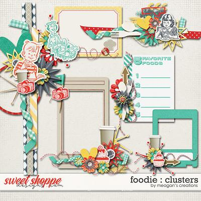 Foodie : Clusters by Meagan's Creations