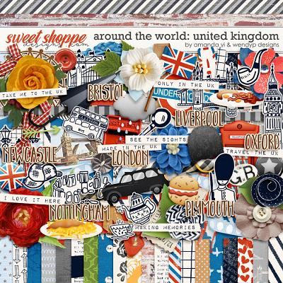 Around the world: United Kingdom by Amanda Yi & WendyP Designs