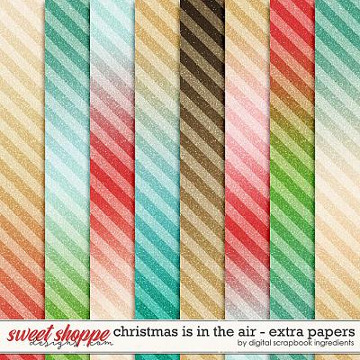 Christmas Is In The Air | Extra Papers by Digital Scrapbook Ingredients