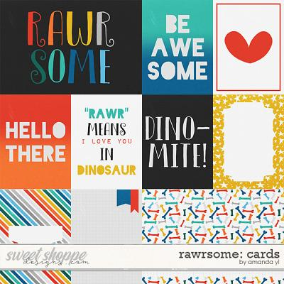Rawrsome: Cards by Amanda Yi