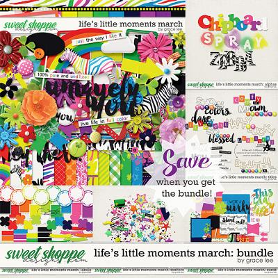 Life's Little Moments March Bundle by Grace Lee