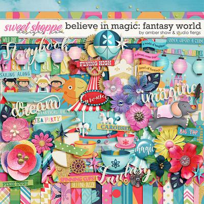 Believe in Magic: Fantasy World by Amber Shaw & Studio Flergs