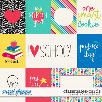 Classmates-Cards by Amanda Yi & Melissa Bennett