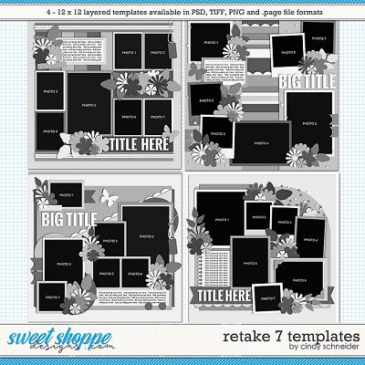 Cindy's Layered Templates - Retake Seven by Cindy Schneider