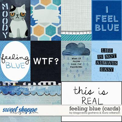 Feeling Blue Cards by Blagovesta Gosheva and Laura Wilkerson