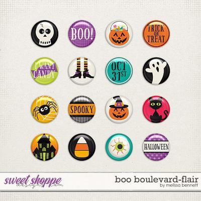 Boo Boulevard-Flair by Melissa Bennett