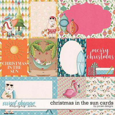 Christmas in the Sun Cards by JoCee Designs
