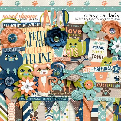 Crazy Cat Lady :: Kit by Meghan Mullens & Two Tiny Turtles