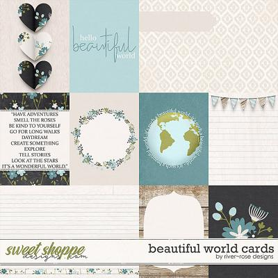 Beautiful World Cards by River Rose Designs