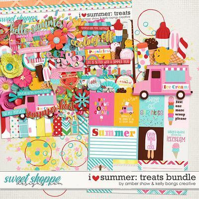 I Heart Summer: Treats Bundle by Amber Shaw & Kelly Bangs Creative