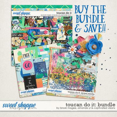 Toucan Do It : Bundle by Brook Magee, Amanda Yi & Captivated Visions