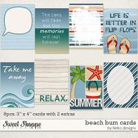 Beach Bum: Cards by lliella designs