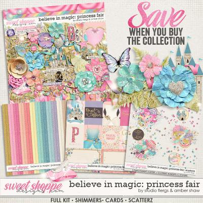Believe In Magic: Princess Fair: Collection by Amber Shaw & Studio Flergs